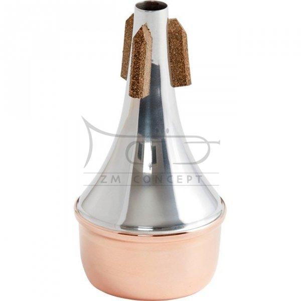 TrumCor tłumik do trąbki piccolo miedziany Straight - Copper Bottom