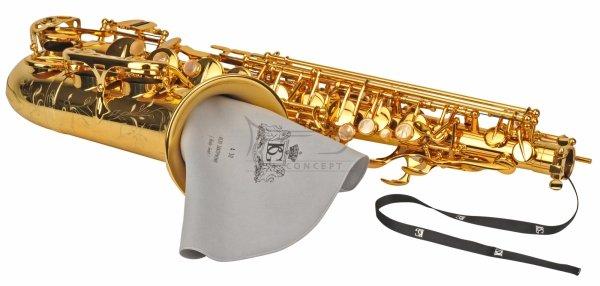 BG A30 wycior do saksofonu altowego z obciążnikiem mikrofibra