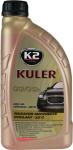 K2 KULER CZERWONY Płyn do chłodnic 1L -35C