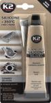 K2 B210 Silikon czarny wys.temp.350C /85g