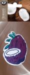 K2 V163D Dwie choinki owoce FRUTTI KOKOS DUOPACK