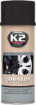K2 COLOR FLEX Guma w sprayu czarny połysk 400ml