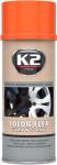K2 COLOR FLEX Guma w sprayu pomarańczowy 400ml