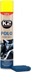 K2 POLO COCKPIT LEMON + MIKROFIBRA 750ml do kokpitu