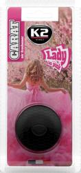K2 CARAT Zapach odświeżacz do samochodu lady in pink 2,7ml