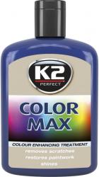 K2 K020 Wosk koloryzujący 200ml 00009 niebieski