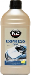 K2 K140 Szampon z woskiem EXPRESS PLUS 500g