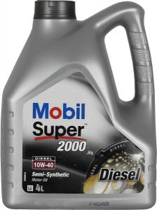 MOBIL SUPER 2000 X1 DIESEL 4L 10W-40