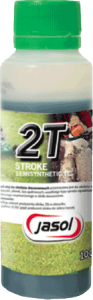 JASOL 2T Stroke OIL Semisynthetic TC 0,1L zielony