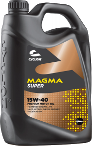 CYCLON MAGMA SUPER 15W-40 4L