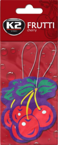 K2 V164D Dwie choinki owoce FRUTTI WIŚNIA DUOPACK