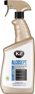 K2 ALCOSEPT 770ml Płyn do dezynfekcji rąk ATEST