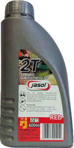 JASOL 2T Stroke OIL  Semisynthetic TC  0,6L czerwony