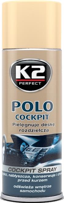 K2 K404 Do nabł/konserw.deski rozdz.-9 zapachów 400ml
