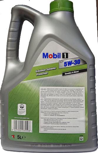 MOBIL 1 ESP 5W30 5L