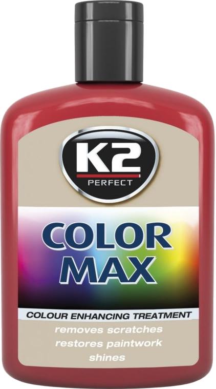 K2 K020CE Wosk koloryzujący 200g 00007 czerwony