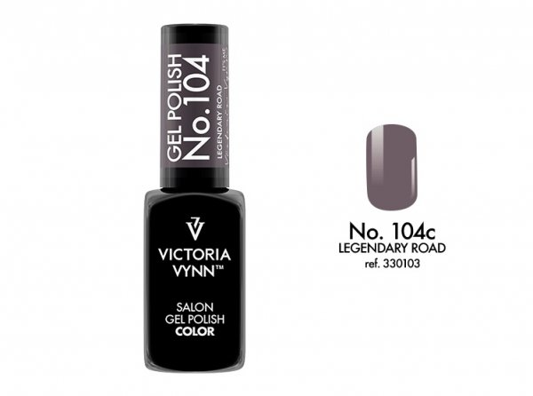 Victoria Vynn Lakier hybrydowy 104c 8ml LEGENDARY ROAD Gel Polish COLOR Victoria Vynn