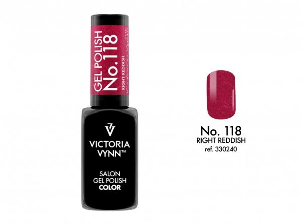 Victoria Vynn Lakier hybrydowy 118 8ml Blue Right Reddish Gel Polish COLOR Victoria Vynn