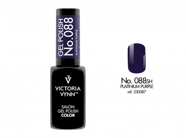 Victoria Vynn Lakier hybrydowy 088sh 8ml PLATINIUM PURPLE Gel Polish COLOR Victoria Vynn