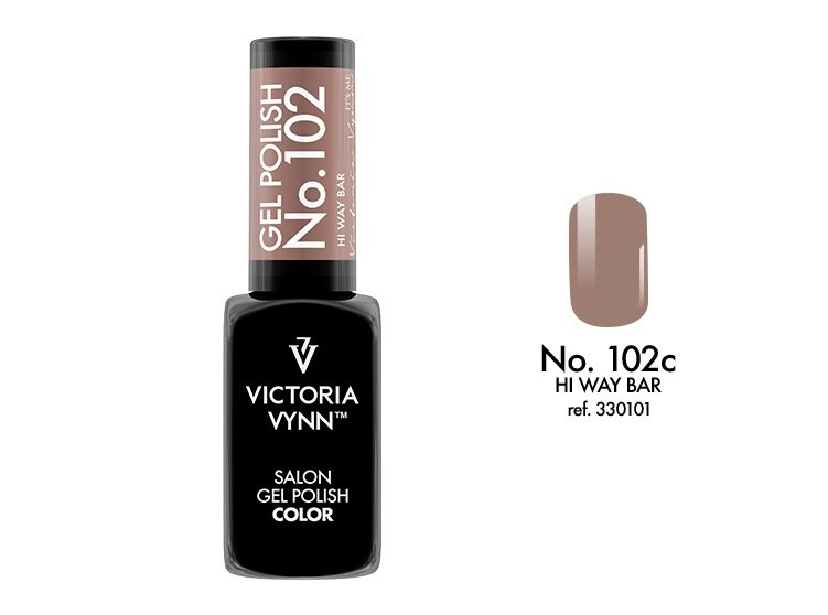 Victoria Vynn Lakier hybrydowy 102c 8ml HI WAY BAR Gel Polish COLOR Victoria Vynn
