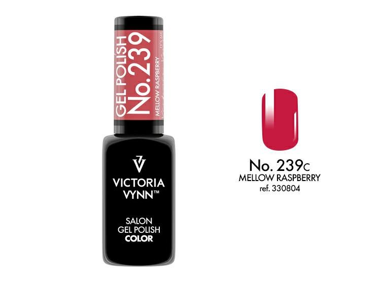 VICTORIA VYNN Lakier hybrydowy 239 8ml MELLOW RASPBERRY Polish Gel