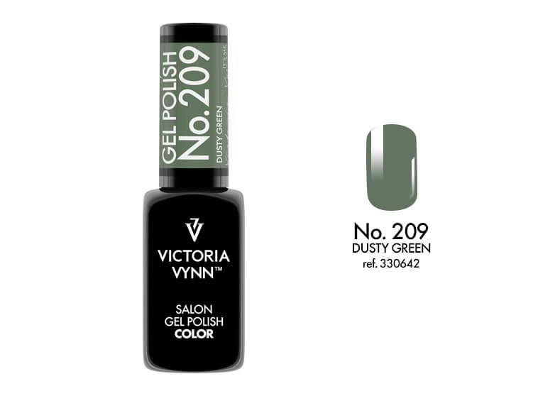 Victoria Vynn Lakier hybrydowy 209 8ml DUSTY GREEN Polish Gel  Victoria Vynn