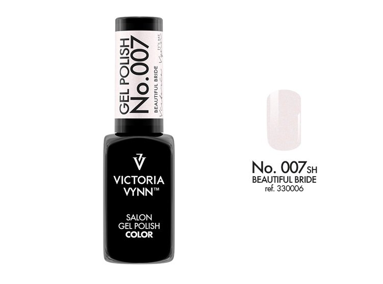 Victoria Vynn Lakier hybrydowy 007sh 8ml BEAUTIFUL BRIDE Gel Polish COLOR Victoria Vynn