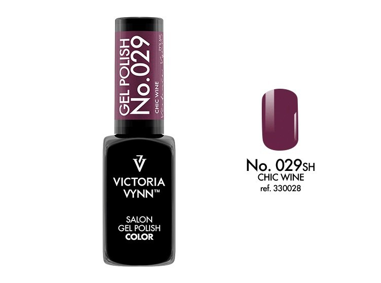 Victoria Vynn Lakier hybrydowy 029sh 8ml CHIC WINE Gel Polish COLOR Victoria Vynn