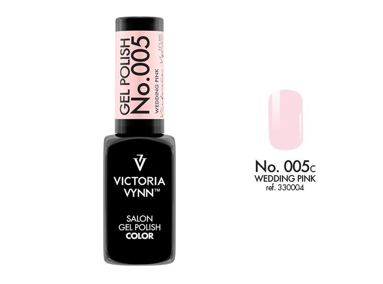 Victoria Vynn Lakier hybrydowy 005c 8ml WEDDING PINK Gel Polish COLOR Victoria Vynn