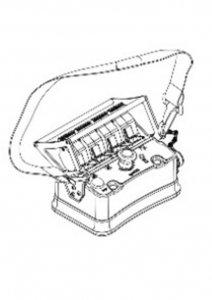 Zdalne sterowanie radiowe  4 Funkcyjny BELLY-BOX