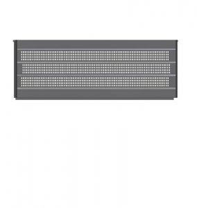 Podwyższenie 700mm stalowe Tylne szerokość  1835mm