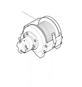 Wyciągarka Hydrauliczna  dla wersji , LME04  ML 270