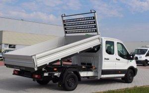 Kipper FORD TRANSIT 2014 L3 Napęd tył 3,5 t Kabina podwójna Doka Pojedyncze koło Rozstwa osi 3954 Wymiary wennętrzne 2900x2030mm