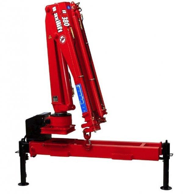 Żuraw Maxilift ML 380.4 H D +rama podporowa + 2 nogi Hydrauliczne