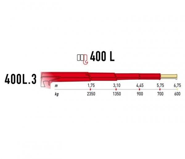 Żuraw Maxilift ML400L.3H  LME04