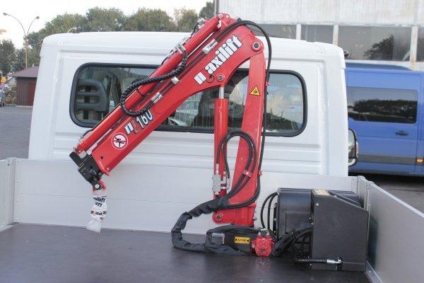 Żuraw Maxilift ML180.2 D E12V komplet z rama + 1 podpory H jedna podpora  M
