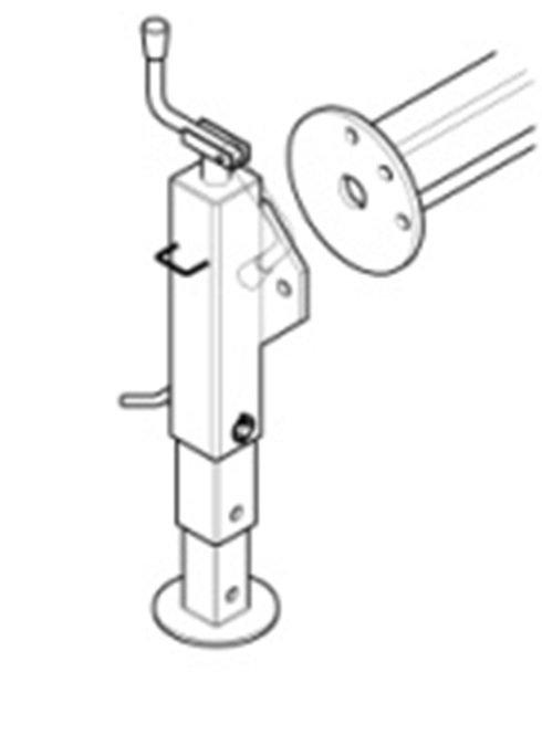 Mechanizm obrotu nogi mechanicznej do Modeli ML 110 /ML150 /ML180 /ML 230