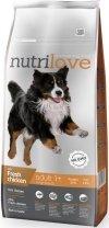 Nutrilove Premium Adult Large - ze świeżym kurczakiem 12kg