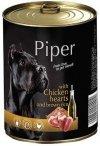 Piper z sercami kurczaka z ryżem 24x400g