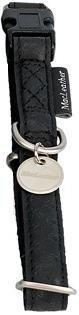 Obroża regulowana Mac Leather 25mm czarna
