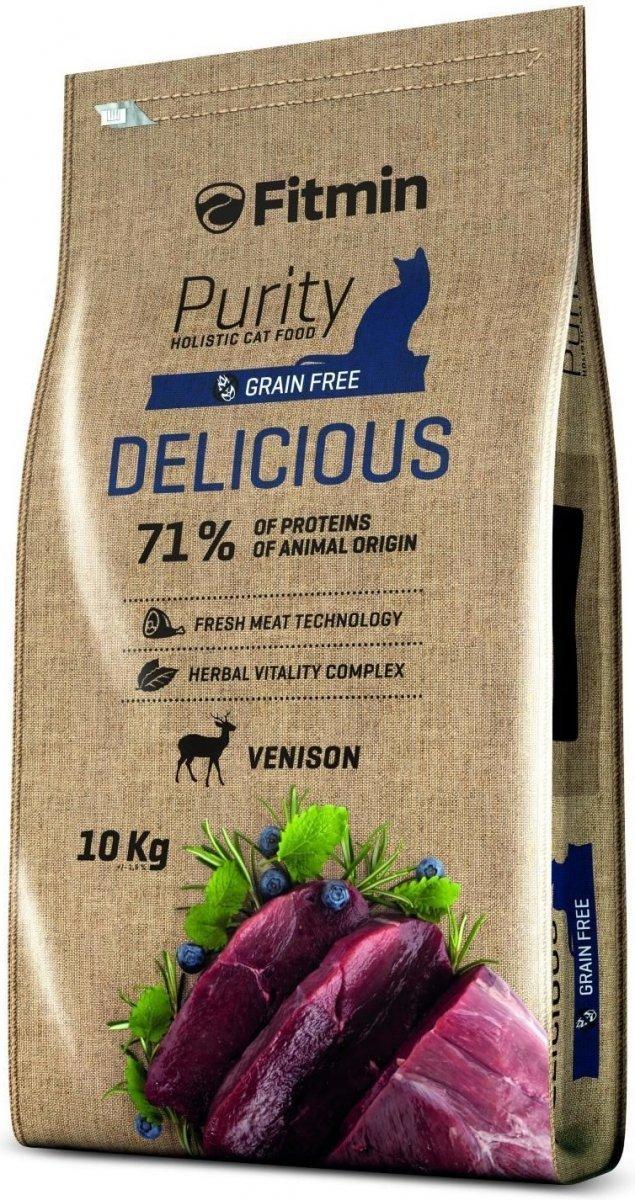 Fitmin Purity Delicious - karma z dziczyzną dla kotów wybrednych 2x10kg (20kg)