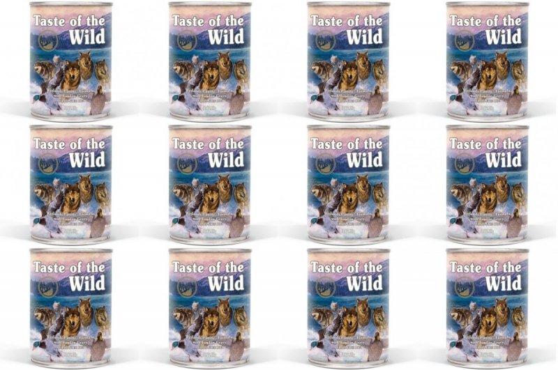 Taste of the Wild Wetlands - mokra karma dla psów 12x390g