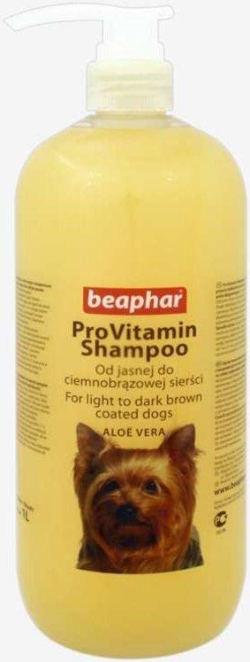 Beaphar Szampon Aloesowy dla psów od jasnej do ciemnobrązowej sierści 1l