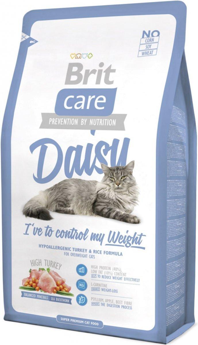 Brit Care Cat Light Daisy I've to control my weight Indyk z ryżem 7kg