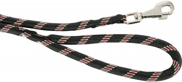 Zolux Smycz nylonowa czarna - sznur 13mm/1,2m