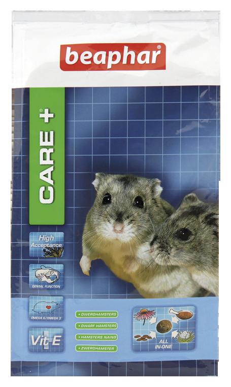 Beaphar Care+ Dwarf Hamster - karma super premium dla chomików karłowatych 250g