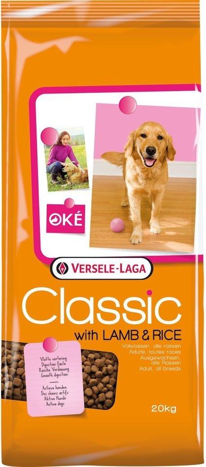 Versele Laga Classic Oke Lamb & Rice - karma z jagnięciną dla dorosłych psów 20kg