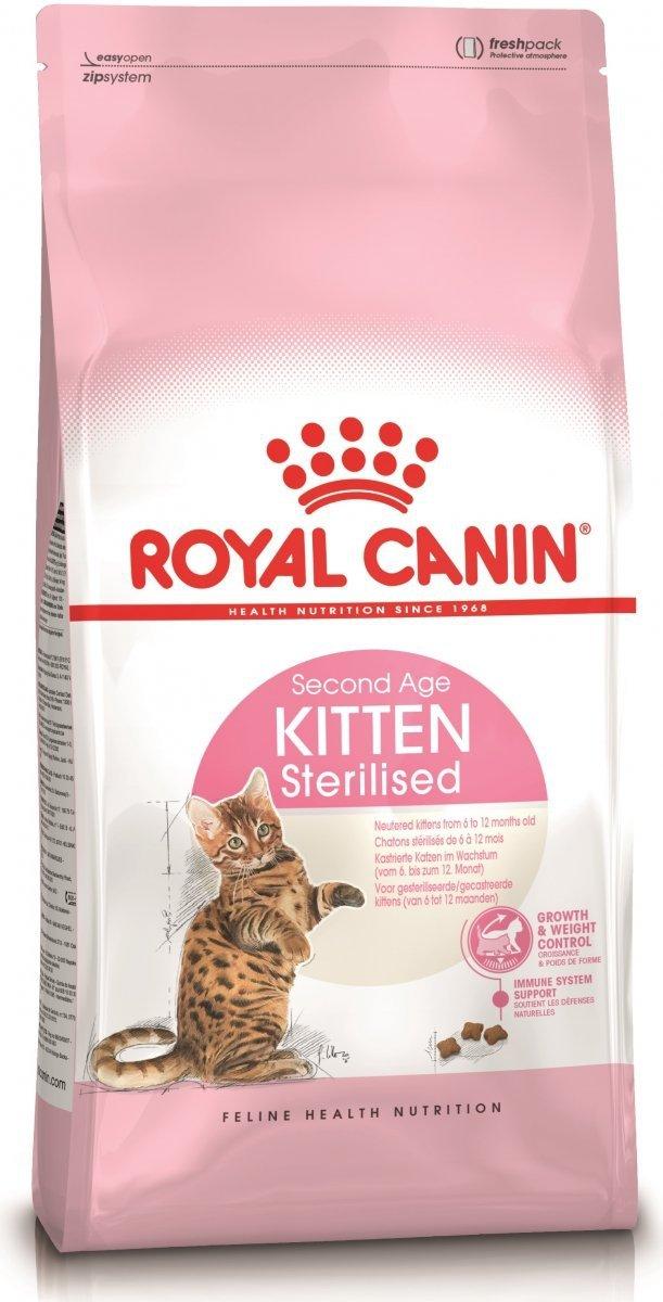 Royal Canin Kitten Sterilised Second Age 4x3,5kg