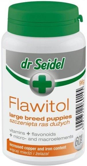 Dr Seidel Flawitol dla szczeniąt dużych ras 60tab.