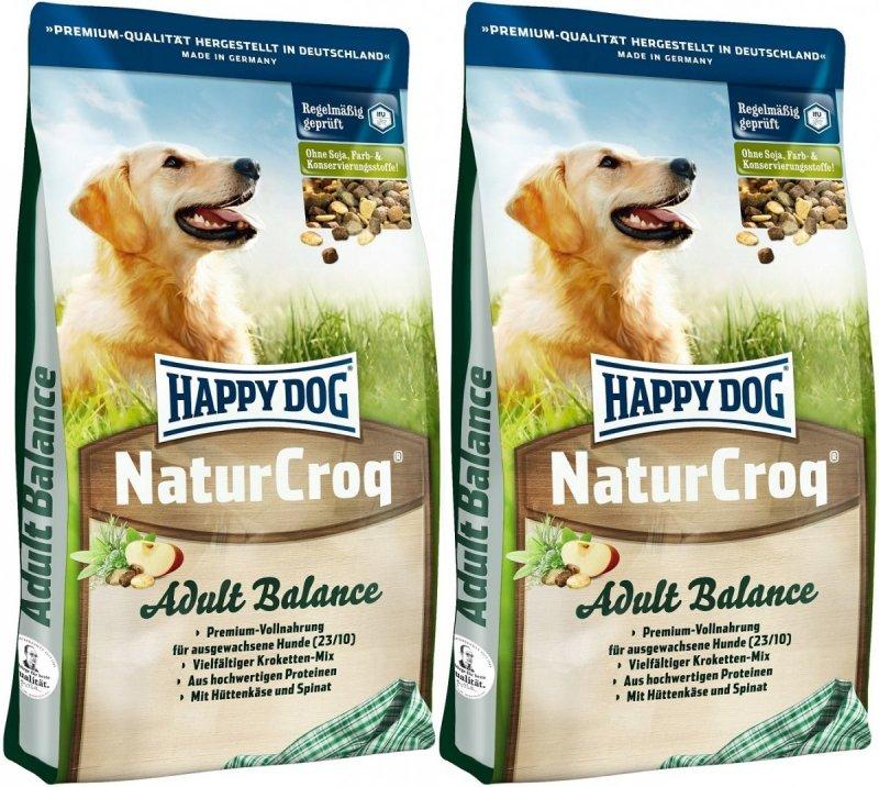 Happy Dog NaturCroq Balance 2x15kg (30kg)